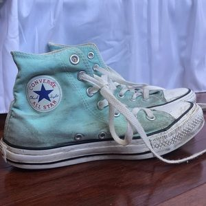 Women's Converse Turquoise